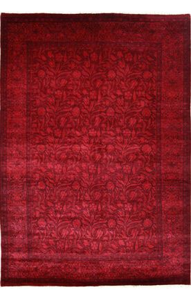 Overdye Vineyard Burgundy Rug. Another possible color scheme...