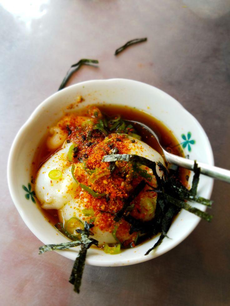 Taiwan hot spring egg