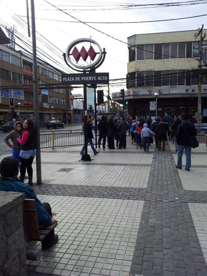 Plaza de Puente Alto en Puente Alto, Metropolitana de Santiago de Chile