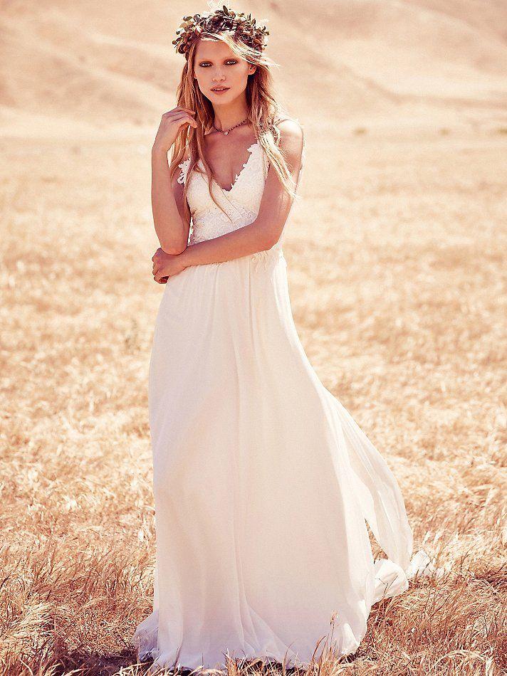 Boho Bohemian Chic Wedding Dresses For Summer