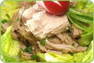 Tuna Treasure salad