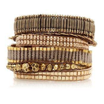 Platine - Bracelet brésilien - Hipanema - Nouvelle Collection et ventes privées - Ref: 1432853 | Brandalley