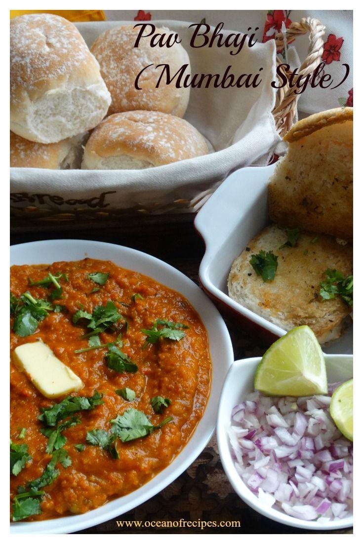 Pav Bhaji (Mumbai street food)