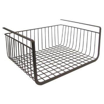 Amazon.com: InterDesign York Lyra Under Shelf Basket