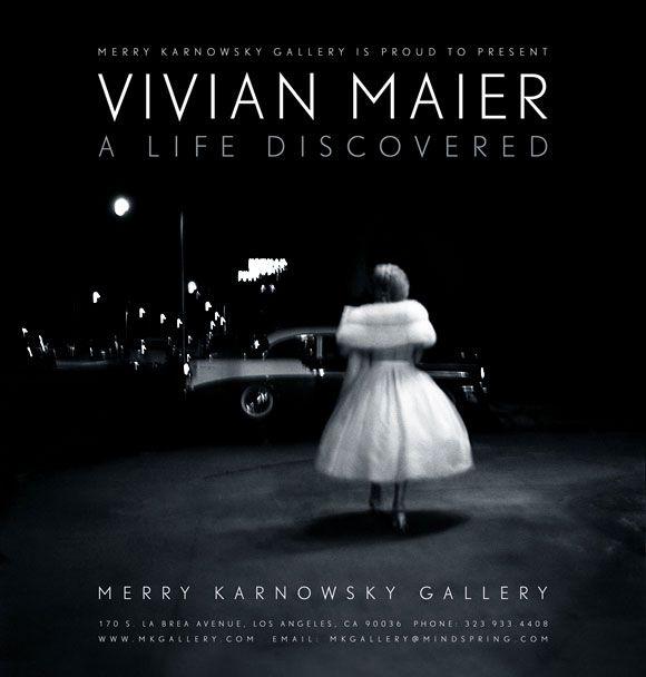 Vivian Maier Opening Reception Saturday, January 7th