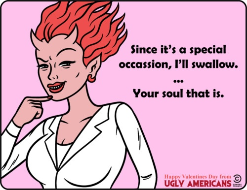 Ugly Americans <3