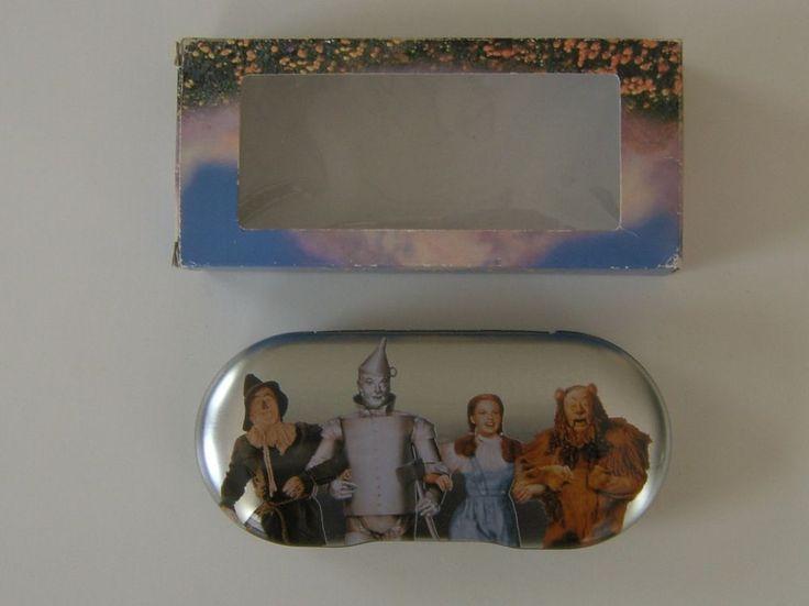 The Wizard of Oz Eyeglass Case Warner Bros Studio Store Dorothy Scarecrow Lion #WarnerBrosStudioStore