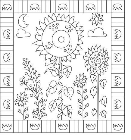 Rug Hooking Pattern pdf format Strange by woollymammothwoolens