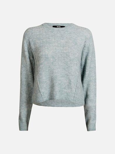 Edge knit sweater   7185377   Blå   BikBok   Norge