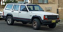 Jeep Cherokee (XJ) - Wikipedia, the free encyclopedia  NYC 1994-1997 2nd New car.  Tables Catering