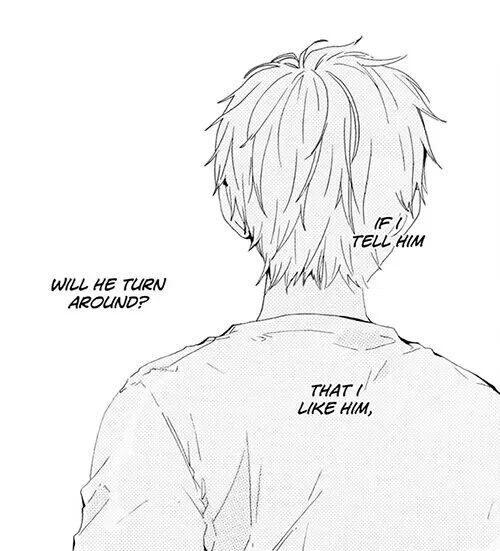 Manga Love Quotes: I Can't Confess Something Like That Just So A Person Can