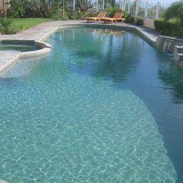 Swan Pools   Swimming Pool Company   Aesthetics   Plaster - traditional - pool - orange county - Swan Pools Southern California