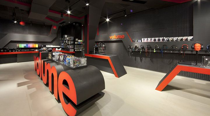 Volume store by Studio Ginger, Doncaster