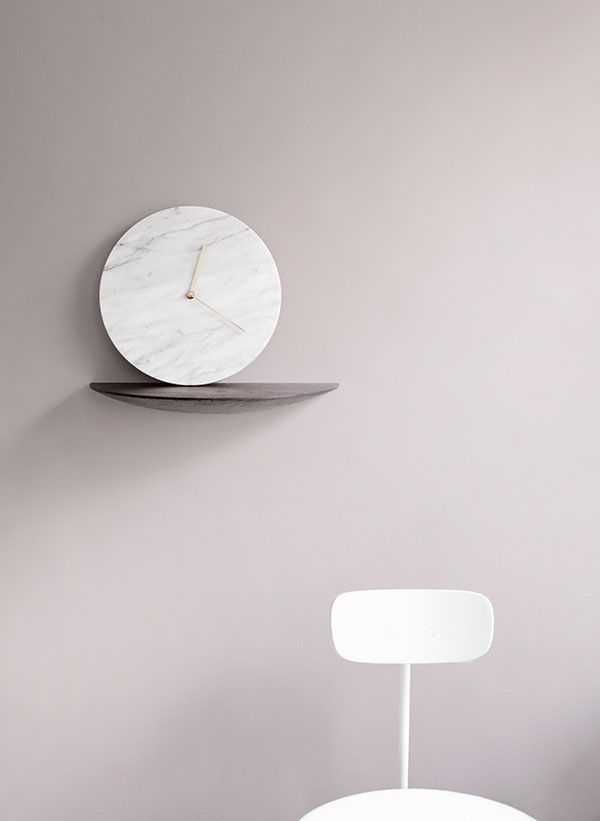 Marble Wall Clock by Norm Architects.