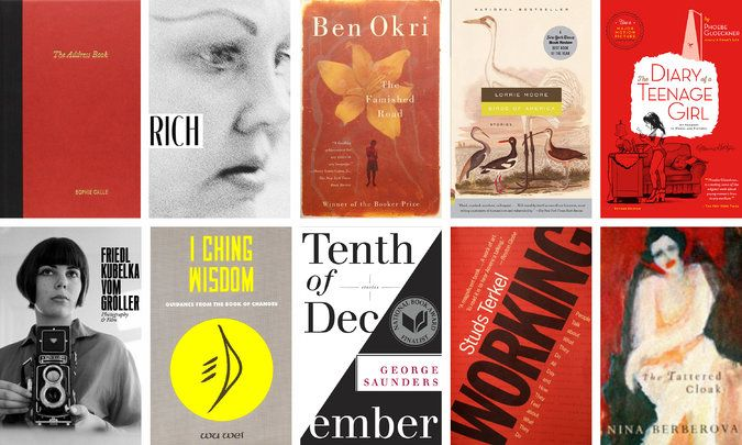 The writer shares the titles she'd most want with her on a desert island.