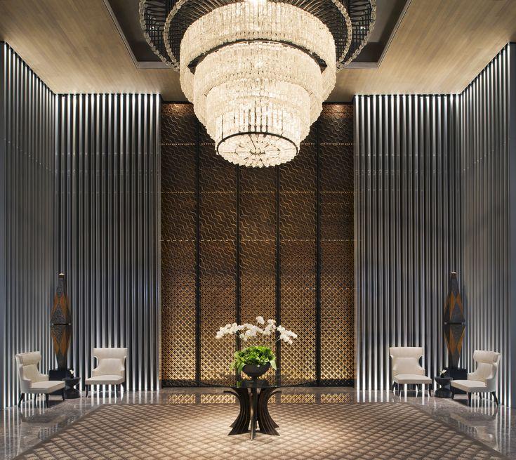 Ballroom lobby at night keraton at the plaza a luxury for Design hotel jakarta