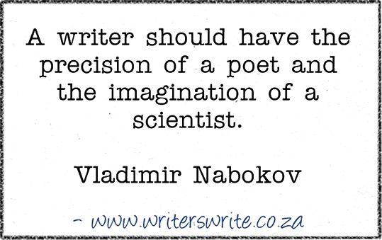 Quotable – Vladimir Nabokov – Writers Write