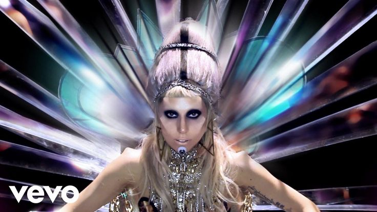 Lady Gaga - Born This Way. Okay. I agree, we are born this way and we have to be brave. However, let's also agree that you are working out some issues. That's okay, too.