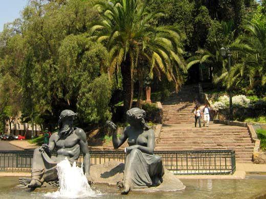 cerro santa LUCIA chile