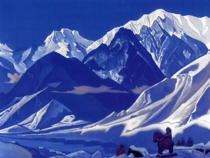 Roerich Paintings | Pic: Kuluta 1936 (courtesy http://www.tanais.info )