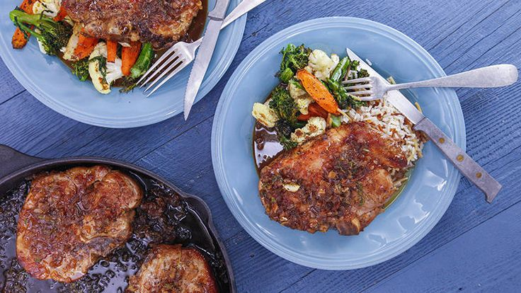Marmalade brings some zing to everyday pork chops!