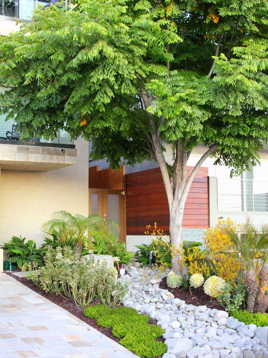 Contemporary Ranch House Remodel Front Entrance Ideas With Walkway Small Yard Green Grass: 404 Best Images About FRONT YARD LANDSCAPING IDEAS On Pinterest