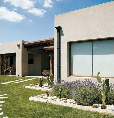 Decoracion una propuesta moderna con estilo campestre - Decoracion de fachadas ...