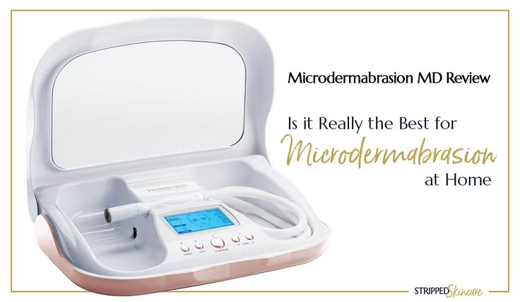 The BEST at home microdermabrasion machine we've found yet! #antiaging #microdermabrasion #microdermabrasionmachines