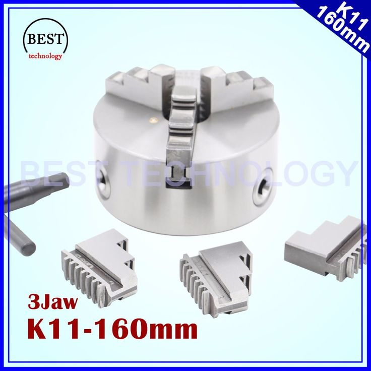 K11 160mm 3 jaw Chuck self-centering manual chuck four jaw for CNC Engraving Milling machine ,CNC  Lathe Machine!  #Affiliate