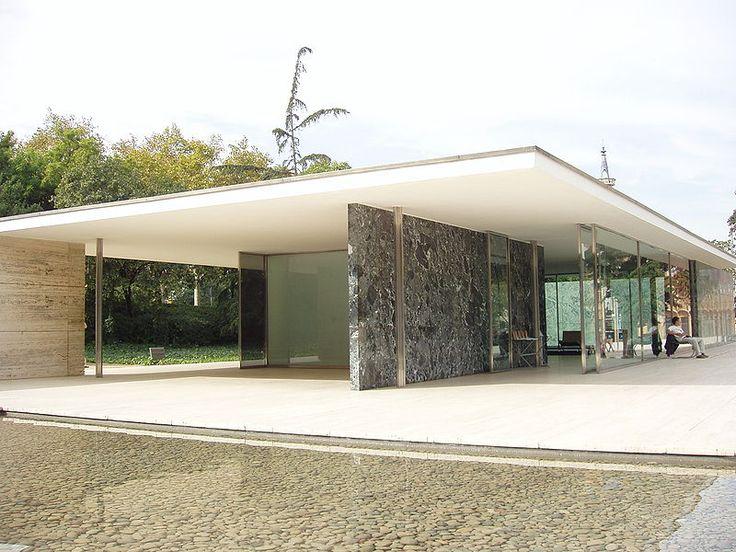 Ber ideen zu barcelona pavillon auf pinterest bauhaus pavillon ludwig mies van der - Architekt barcelona ...