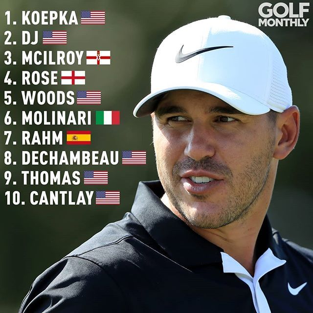 How long will Brooks koepka stay atop the Official World ...