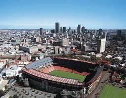 Ellis Park - Johannesburg The venue where the Springboks won the 1995 Rugby World Cup against the All Blacks. 2009.