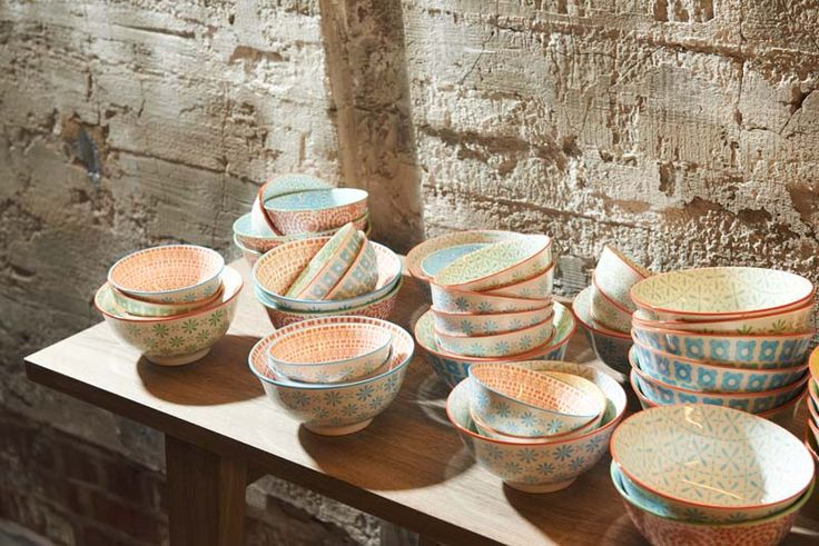 Pomax Summer 2014 collection I loved these bowls from the minute I saw them! Great to mix and match.