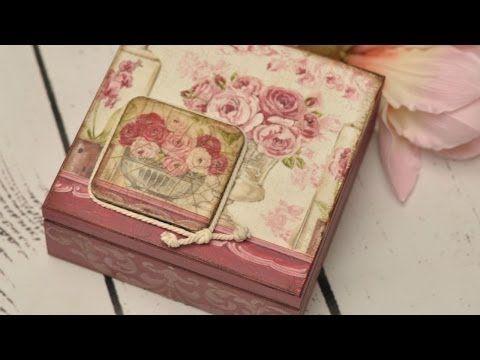 1000 images about cajas decoradas on pinterest madeira - Pegamento para decoupage ...