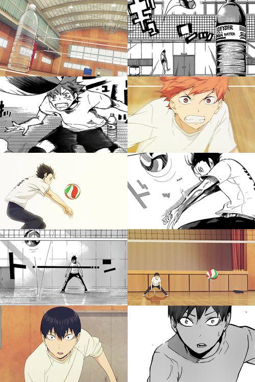 8. Manga vs Anime - haikyuu!!