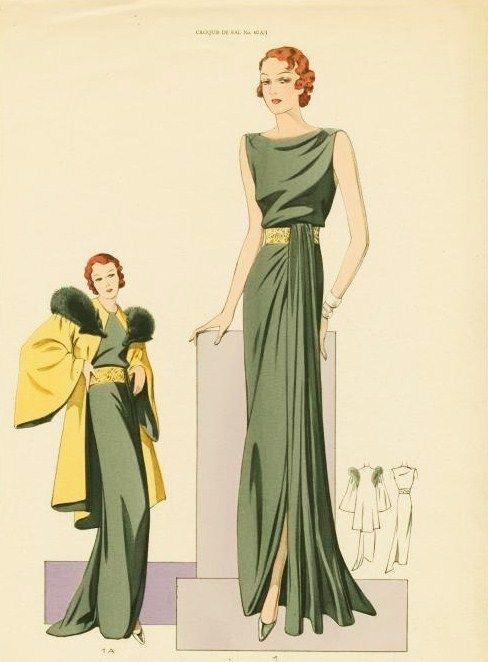 1930's dresses #VintageGlam