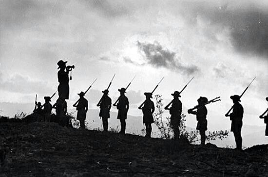 ANZAC Day 25th April.... 100 years on and we will still remember them.