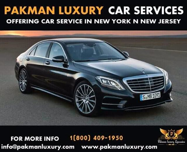 Pin By Pakman Luxury On Limousine Black Car Service Airport Transportation New Jersey