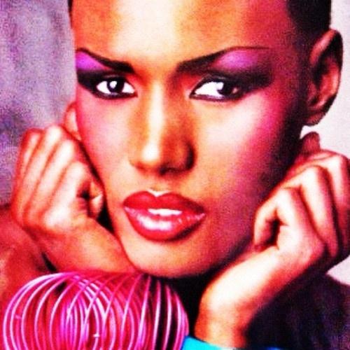grace jones   90's makeup