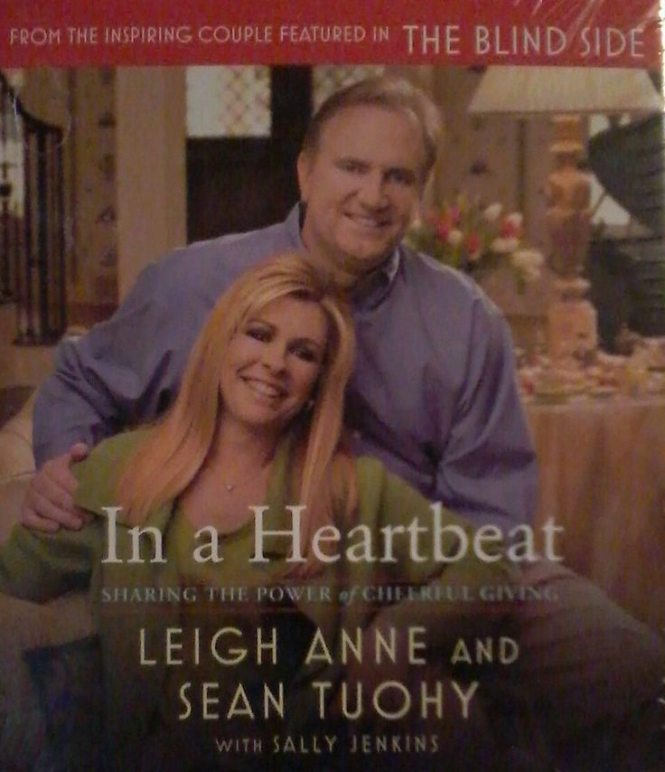 BOOK ON CD : In a Heartbeat by Leigh Anne and Sean Tuohy THE BLIND SIDE Inspired