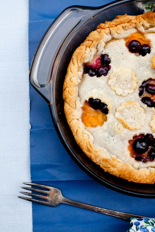 Blueberry and Peach PieBlueberries Food, Cooking Melangery, Cups Peaches, Peaches Cooking, Cups Blueberries, Cups Honey, Cooking Tips, Food Recipe, Blueberries Peaches Pies