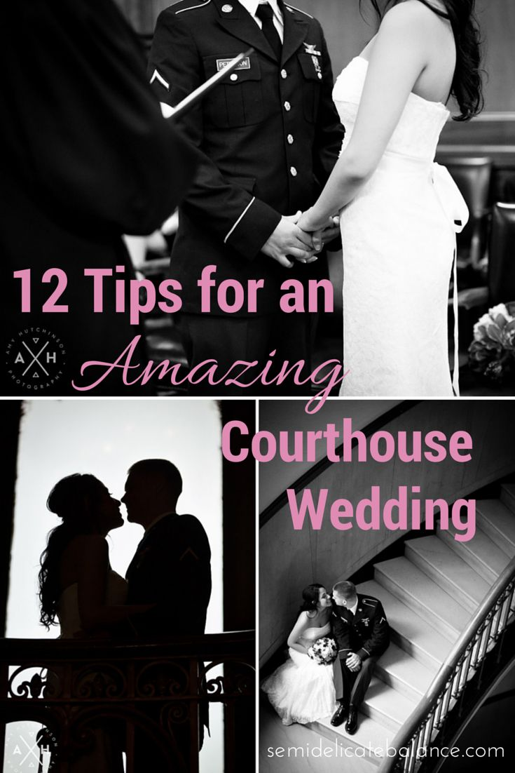 12 Tips for an Amazing Courthouse Wedding