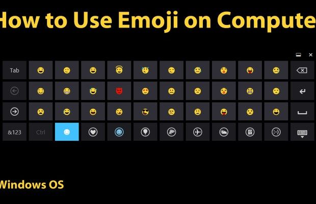 How To Use Emojis In Windows Now You Have Access To The Emoji Keyboard Which You Can Use To Insert Any Emoji Into Your Posts Typed Emojis Computer Tech Hacks