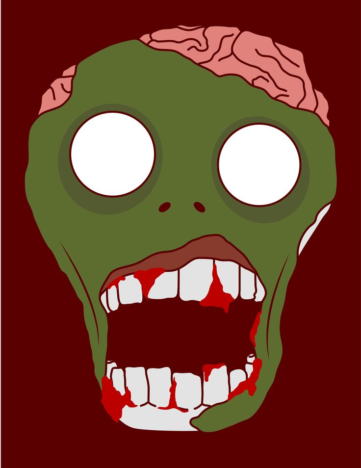 Zombie! Watch out! #illustration #terror #zombie