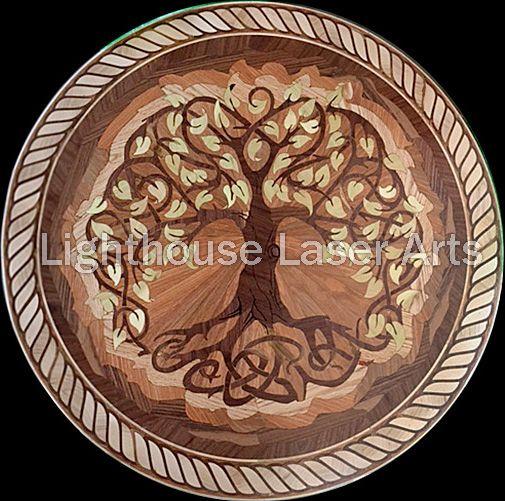 23 best wood flooring medallions inlays designs images for Wood floor medallion designs