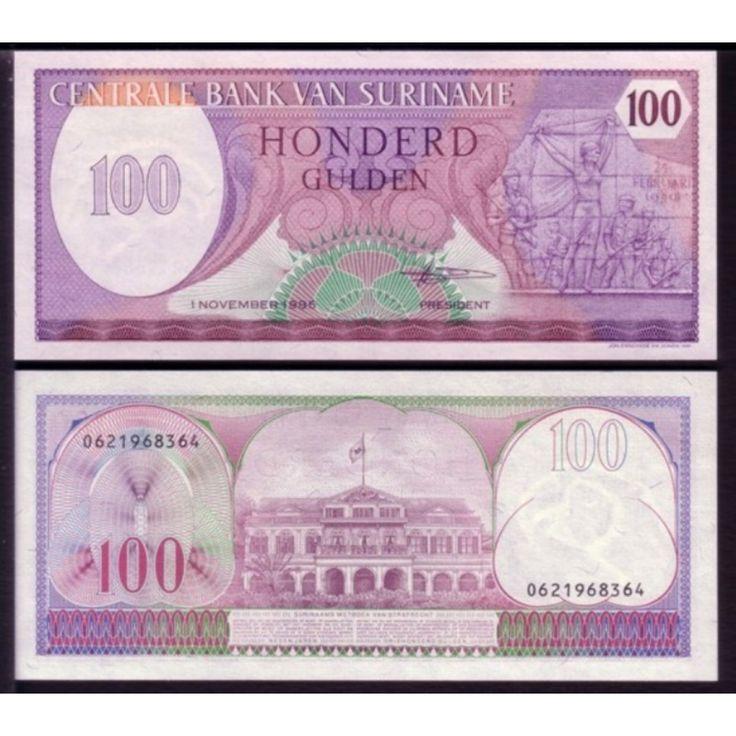 100 guldenów, Surinam