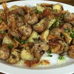 Smoked Potatoes Recipe Roasted potatoes are an easy and delicious side dish folks love. But when you add in bacon and cook potatoes on the smoker, you take them to a new level.   First I take red pota...