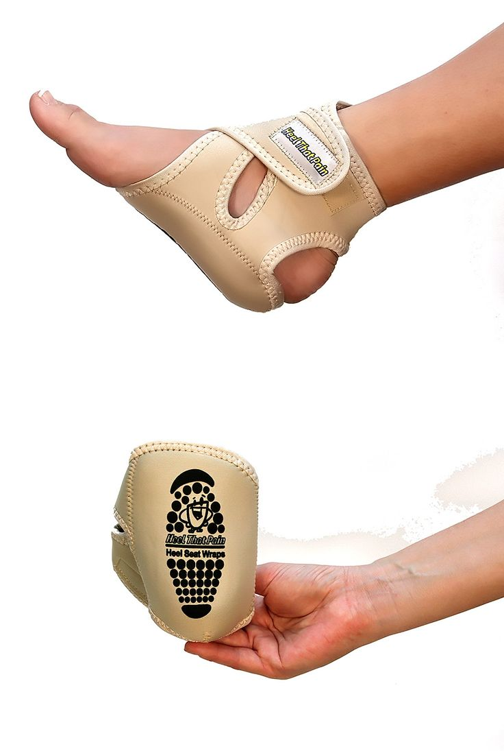 Heel That Pain Heel Seats Foot Orthotic Inserts - Heel Cups Cushions Insoles for Plantar Fasciitis, Heel Spurs, and Heel Pain, Blue, Large (Women's , Men's ).
