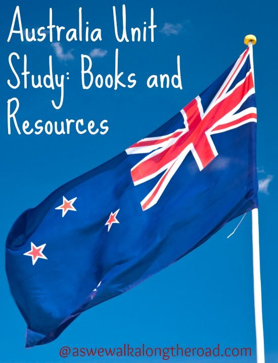 Unit study ideas for Australia- books, websites, and activity resources