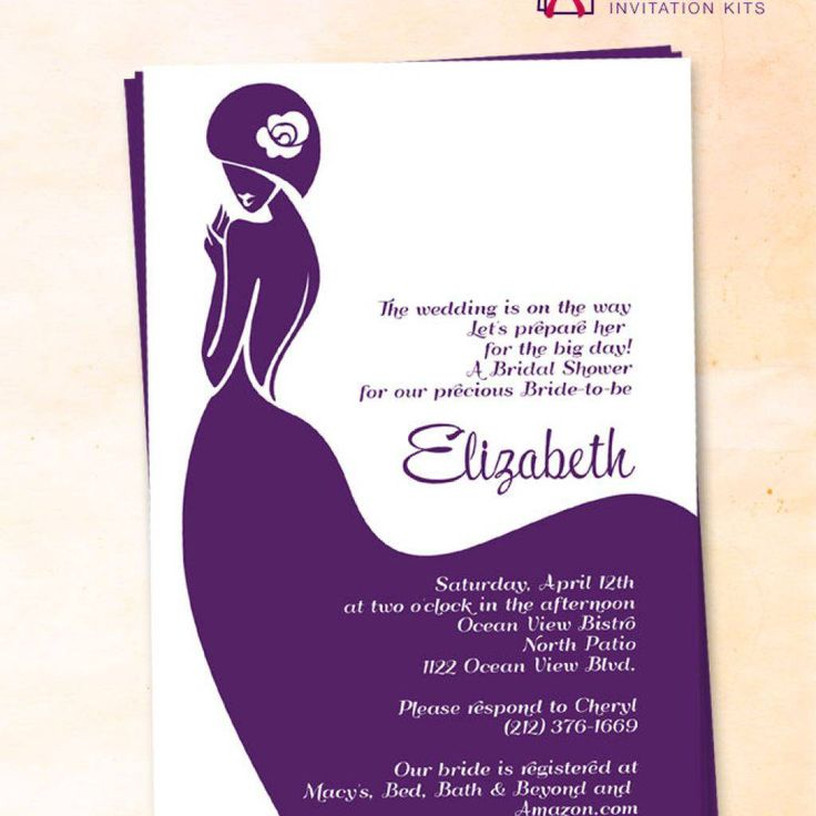 16 best Bridal Shower Invitations (free) images on Pinterest - free bridal shower invitation templates for word